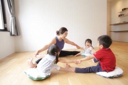 藤代有希 ヨガ yoga キッズヨガ kids