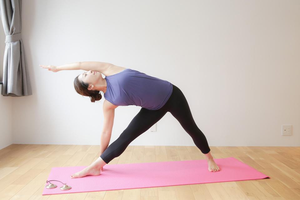 藤代有希 ヨガ yoga
